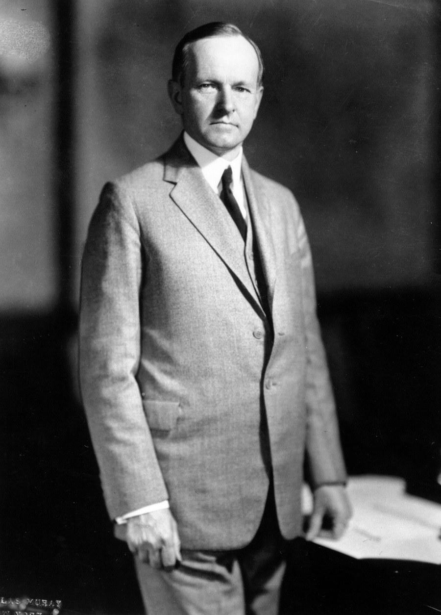 Calvin J Coolidge