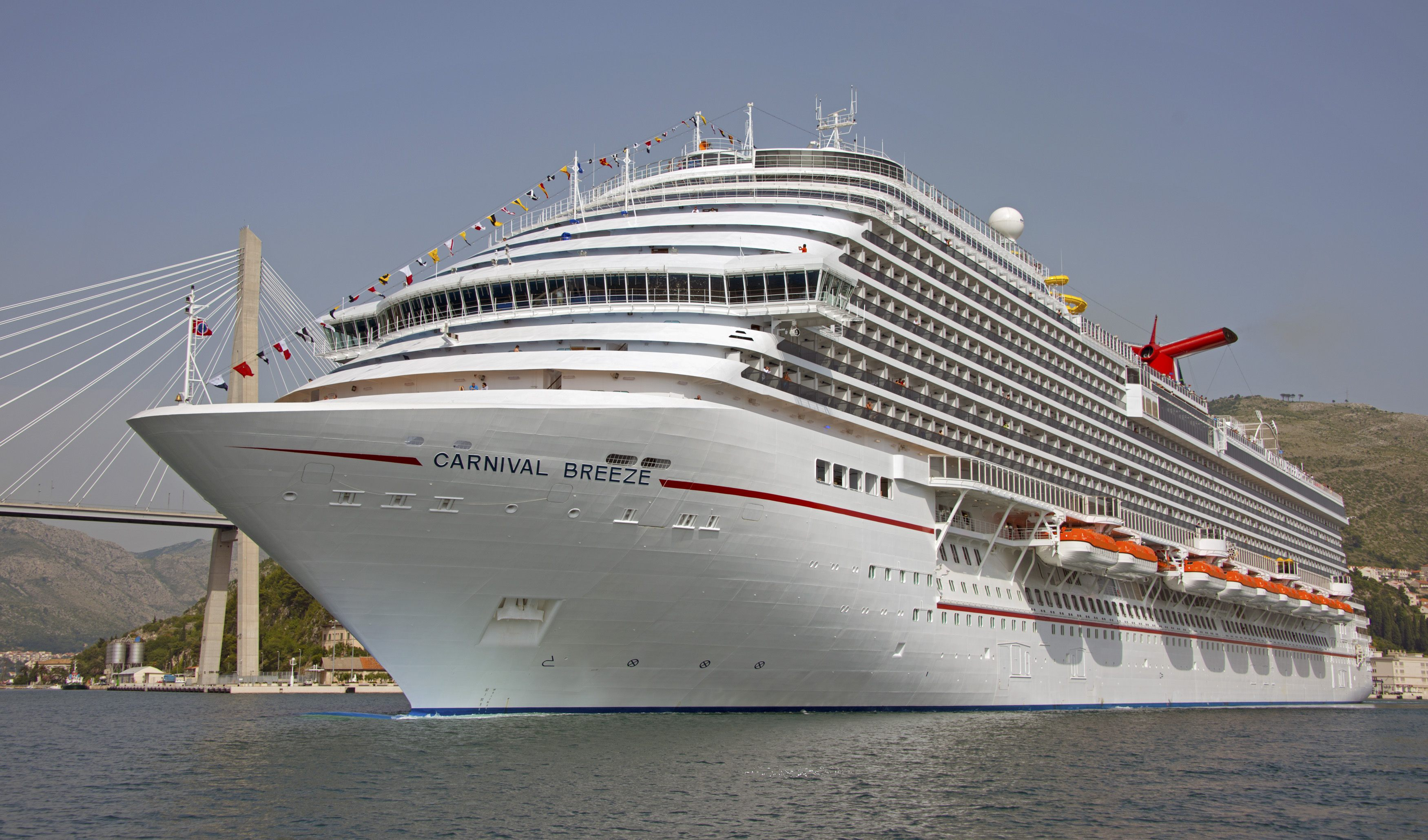 New Carnival Breeze Cruise Ship