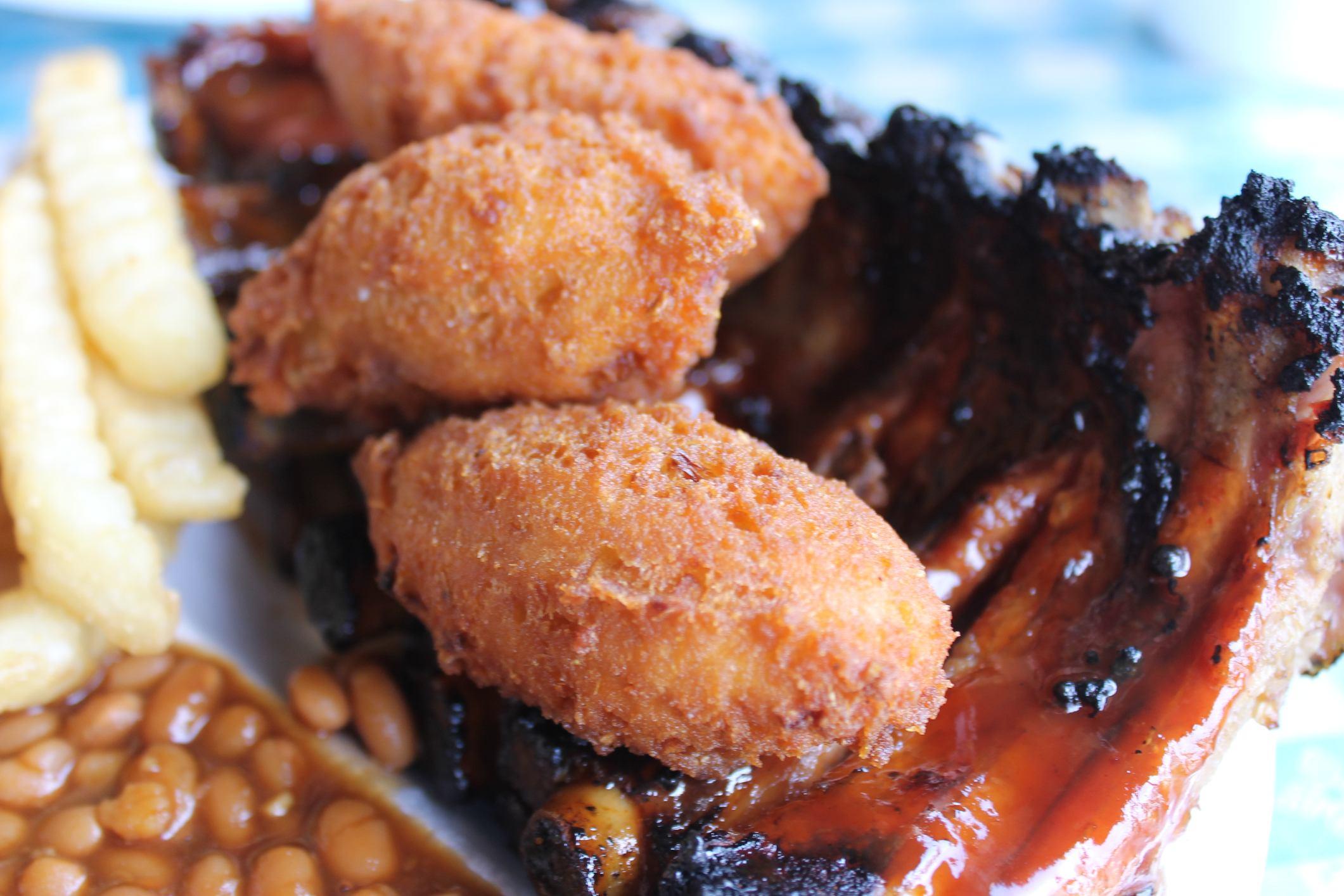 Carolina barbecue ribs