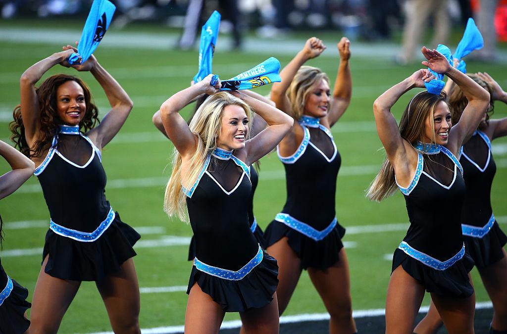 Carolina Panthers cheerleaders