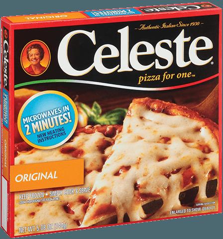 Celeste pizza