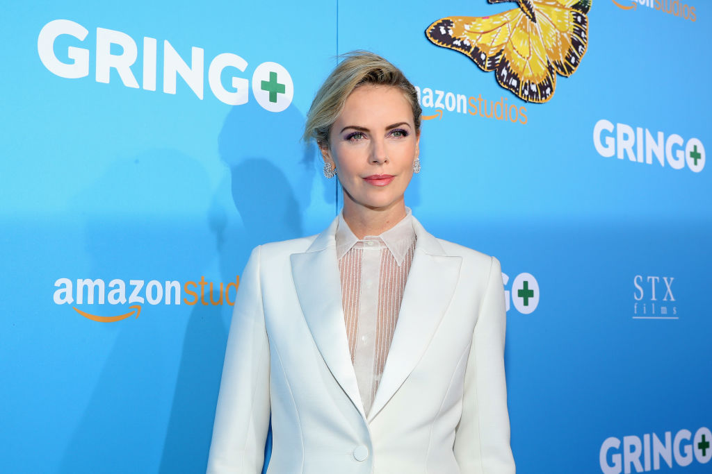 Producer Charlize Theron