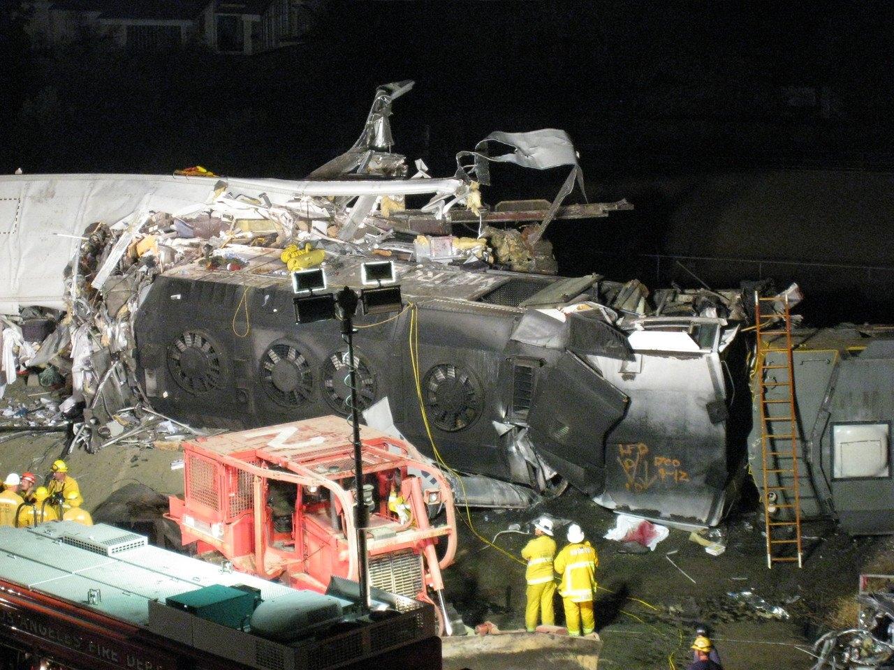 Chatworth, California crash