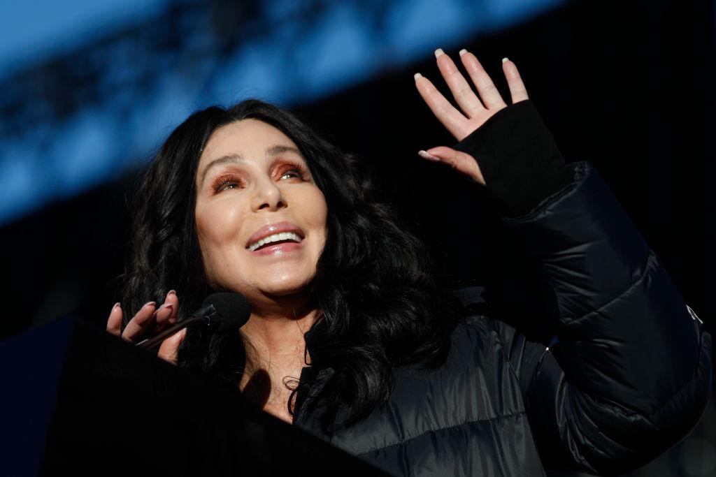 Singer/actress Cher
