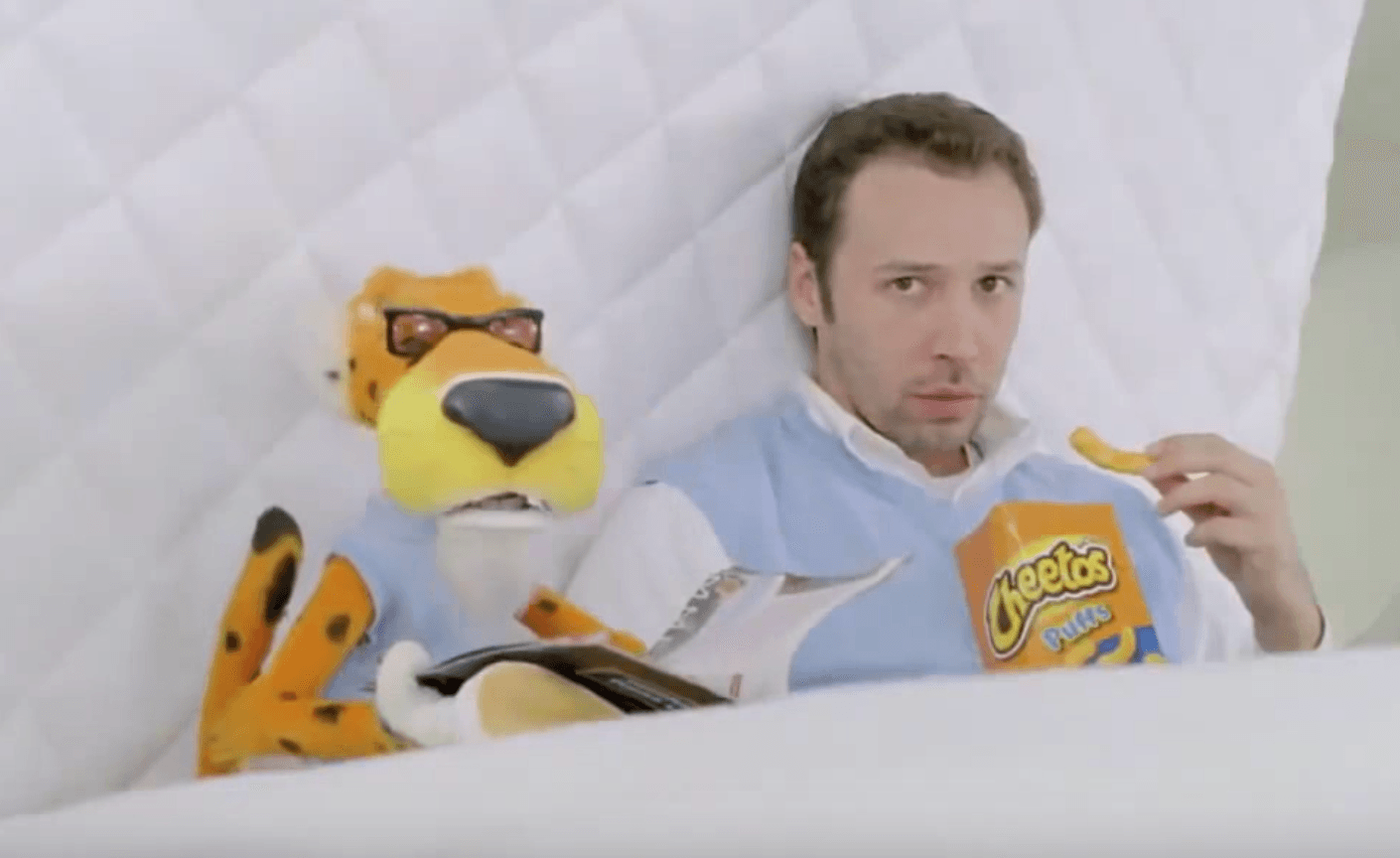 Chester the cheetah cheetos