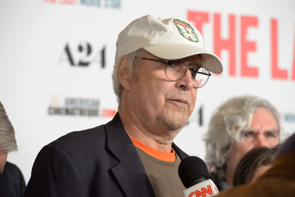 Actor Chevy Chase