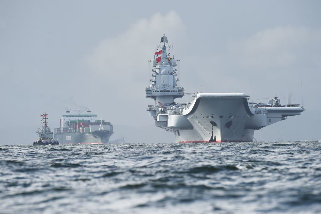 Chinese military aircraft carrier Liaoning