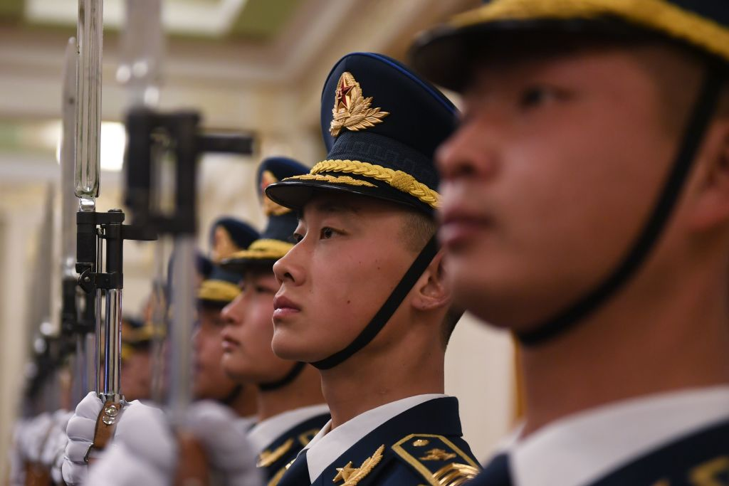 Chines Soldiers military
