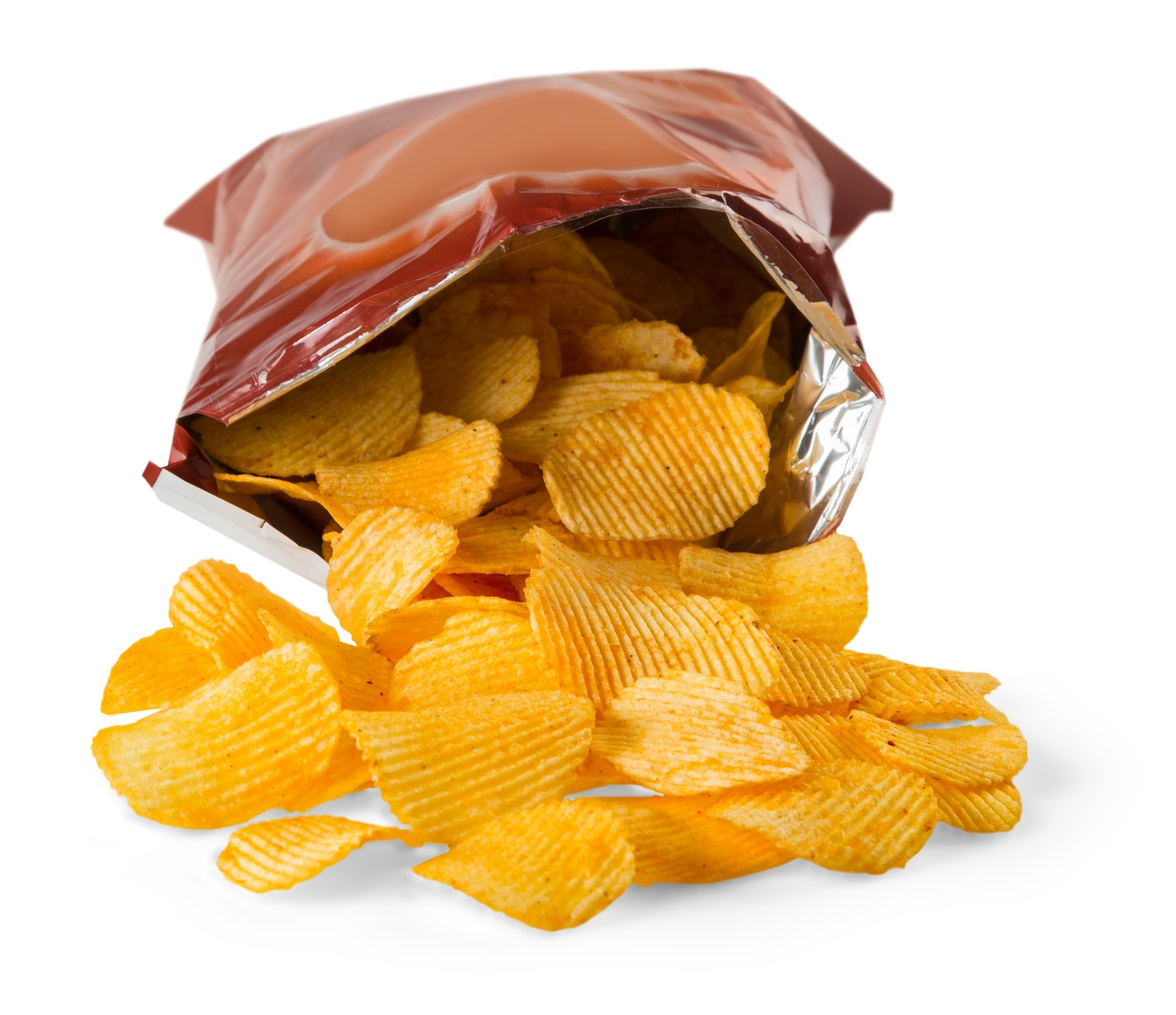 Open Bag of Chips