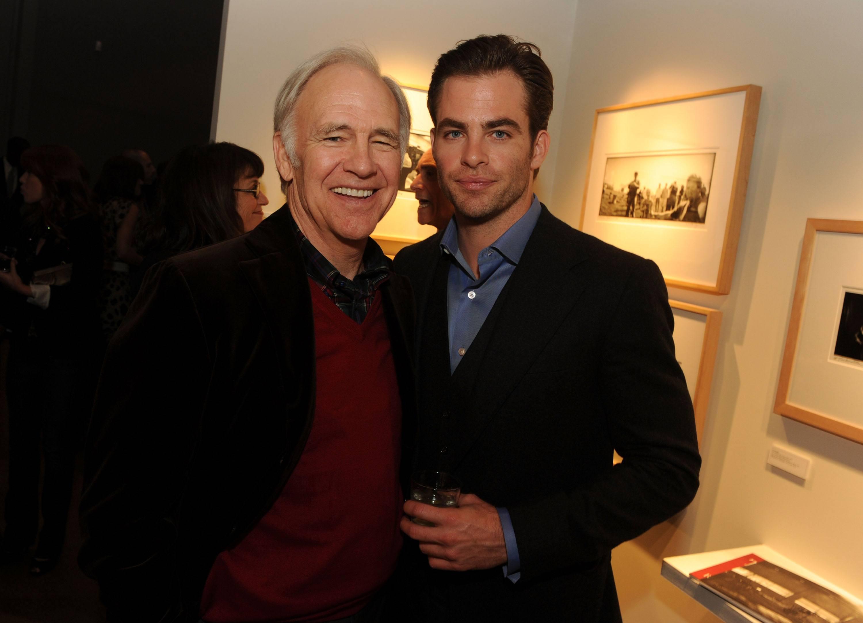 Chris and Robert Pine