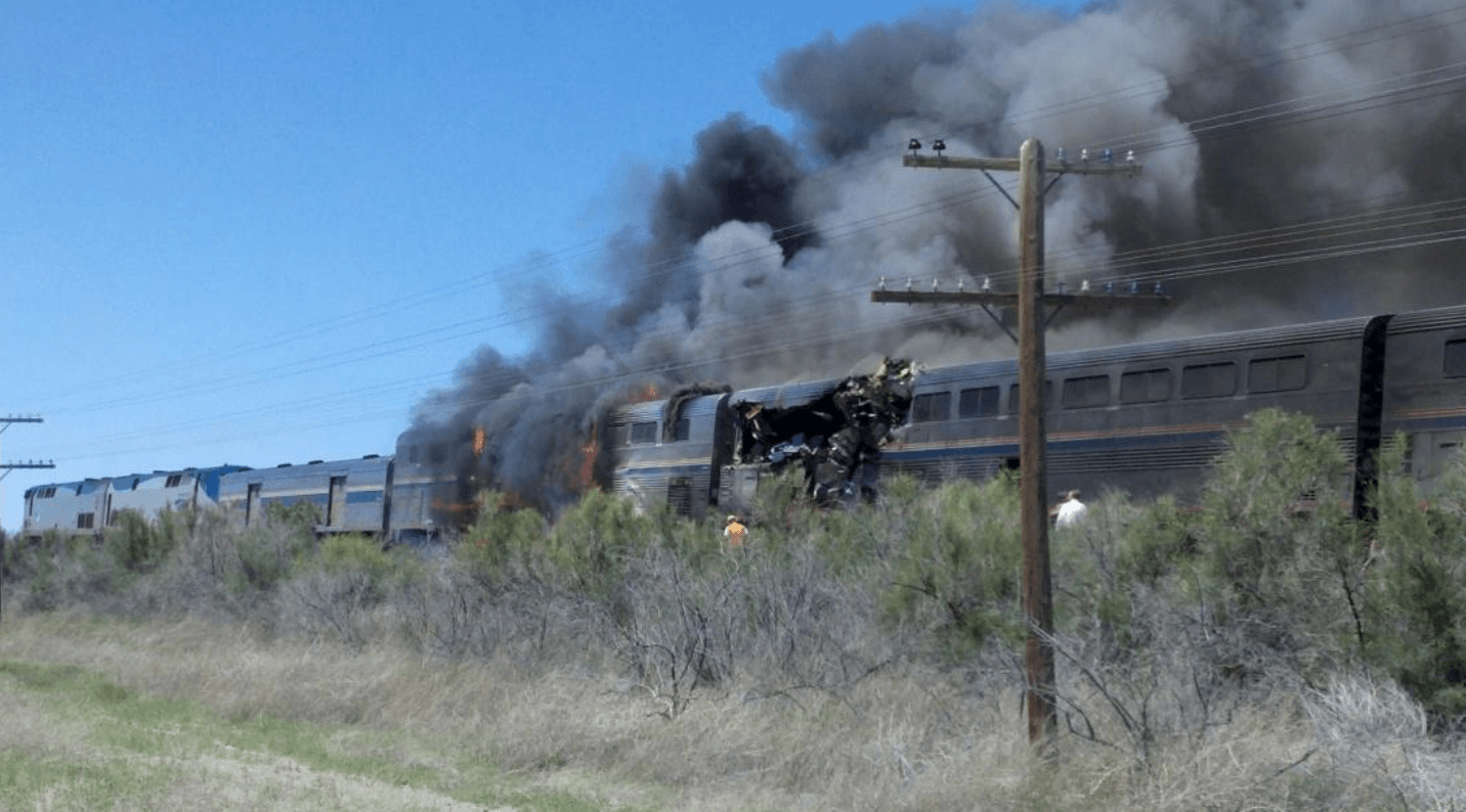 Churchill Nevada train crash
