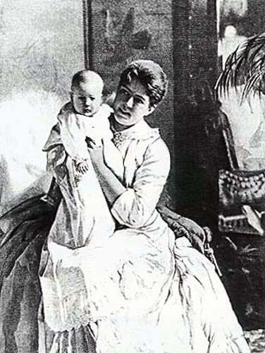 Grover Cleveland wife baby
