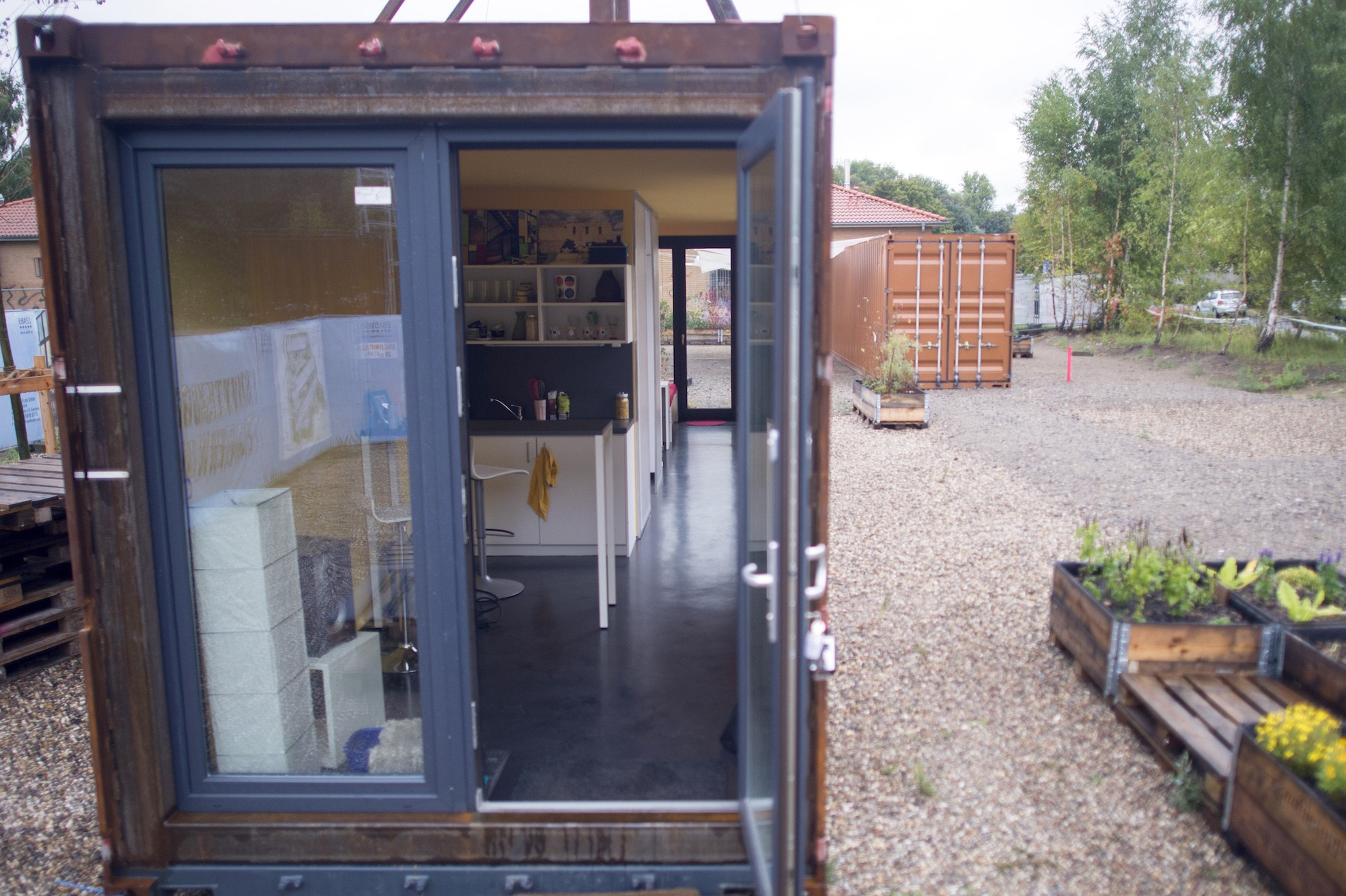 Student container tiny home