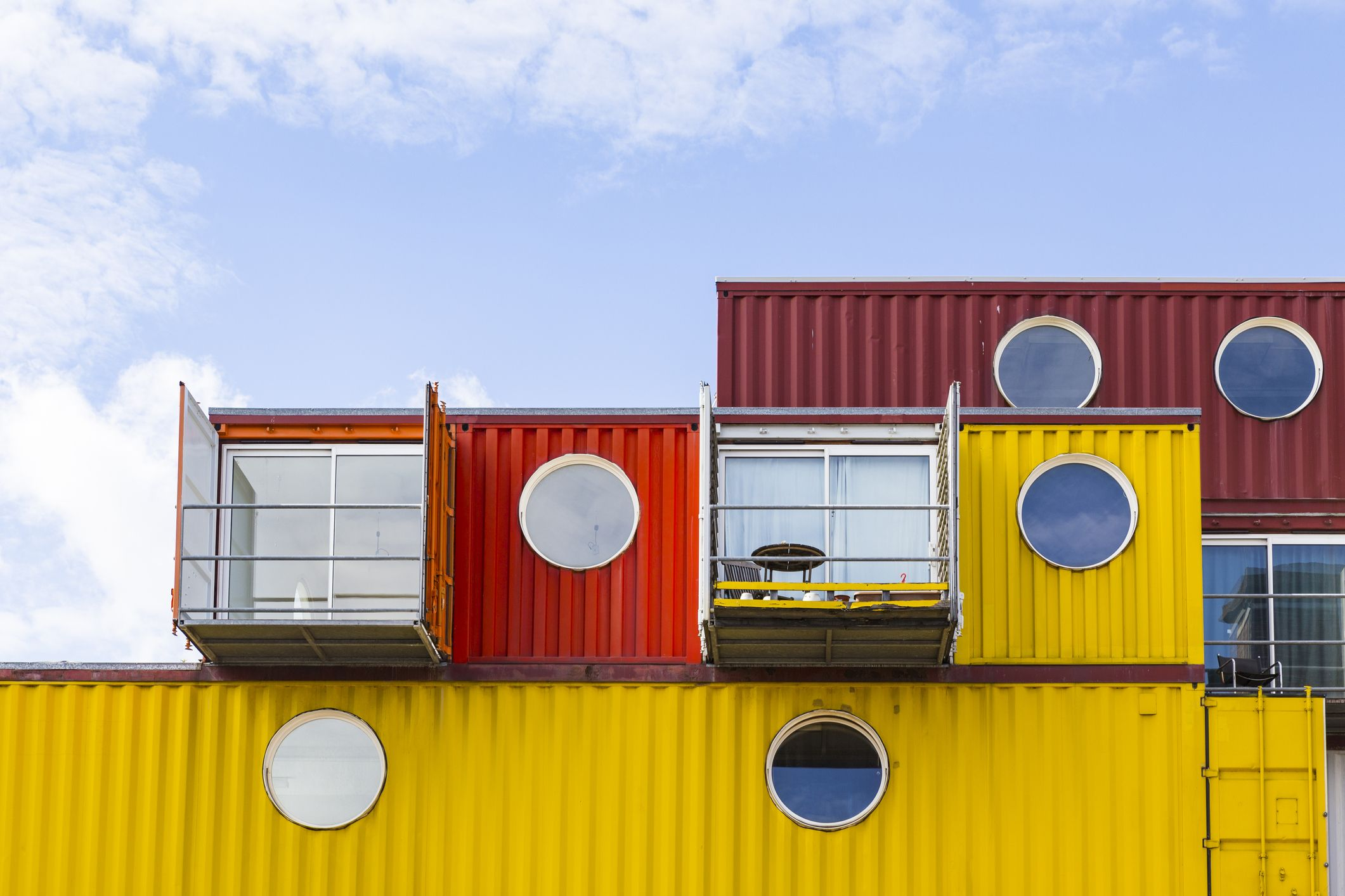 Trinity Buoy Wharf shipping container homes