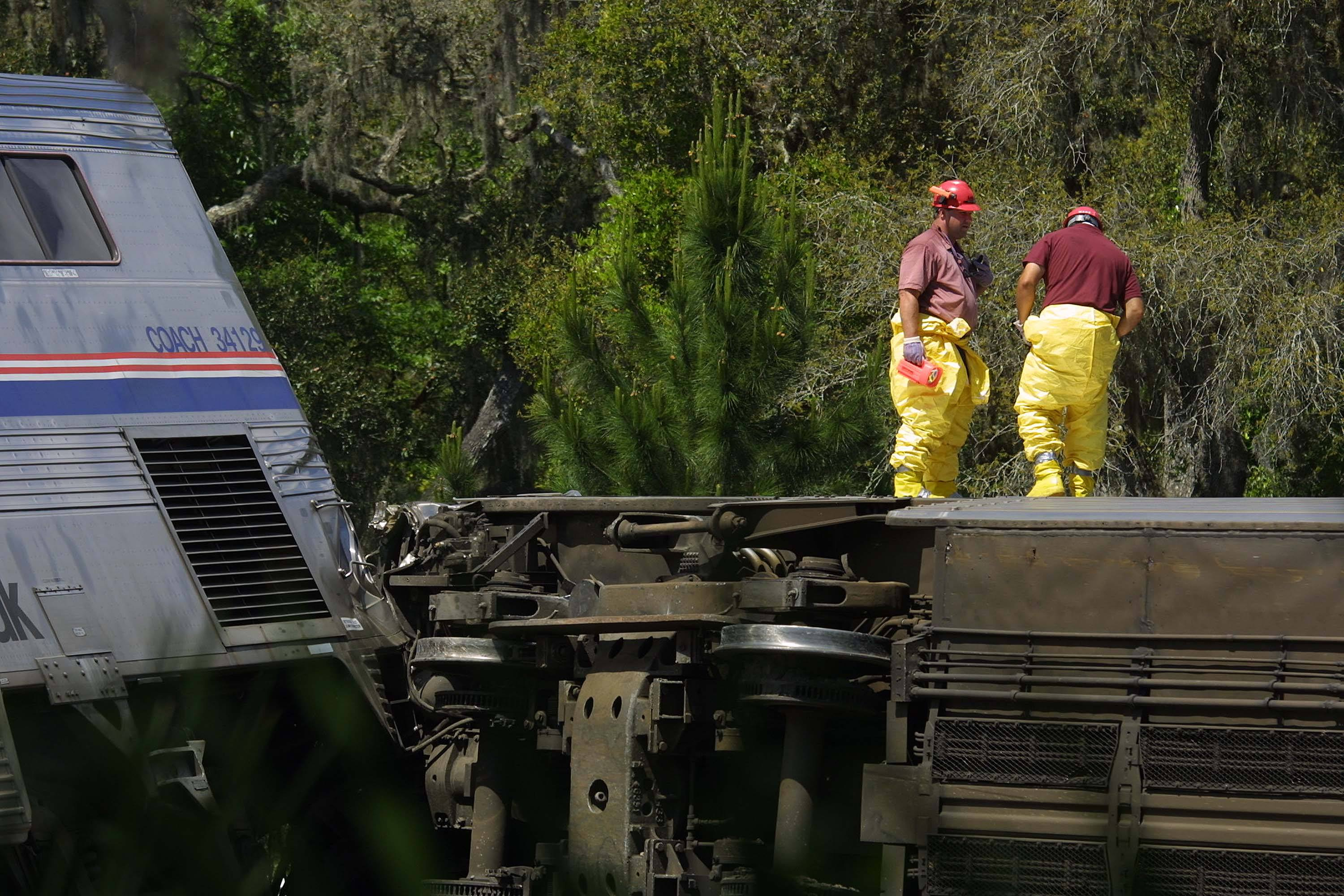 Amtrak Auto Train Derailment Crescent City florida