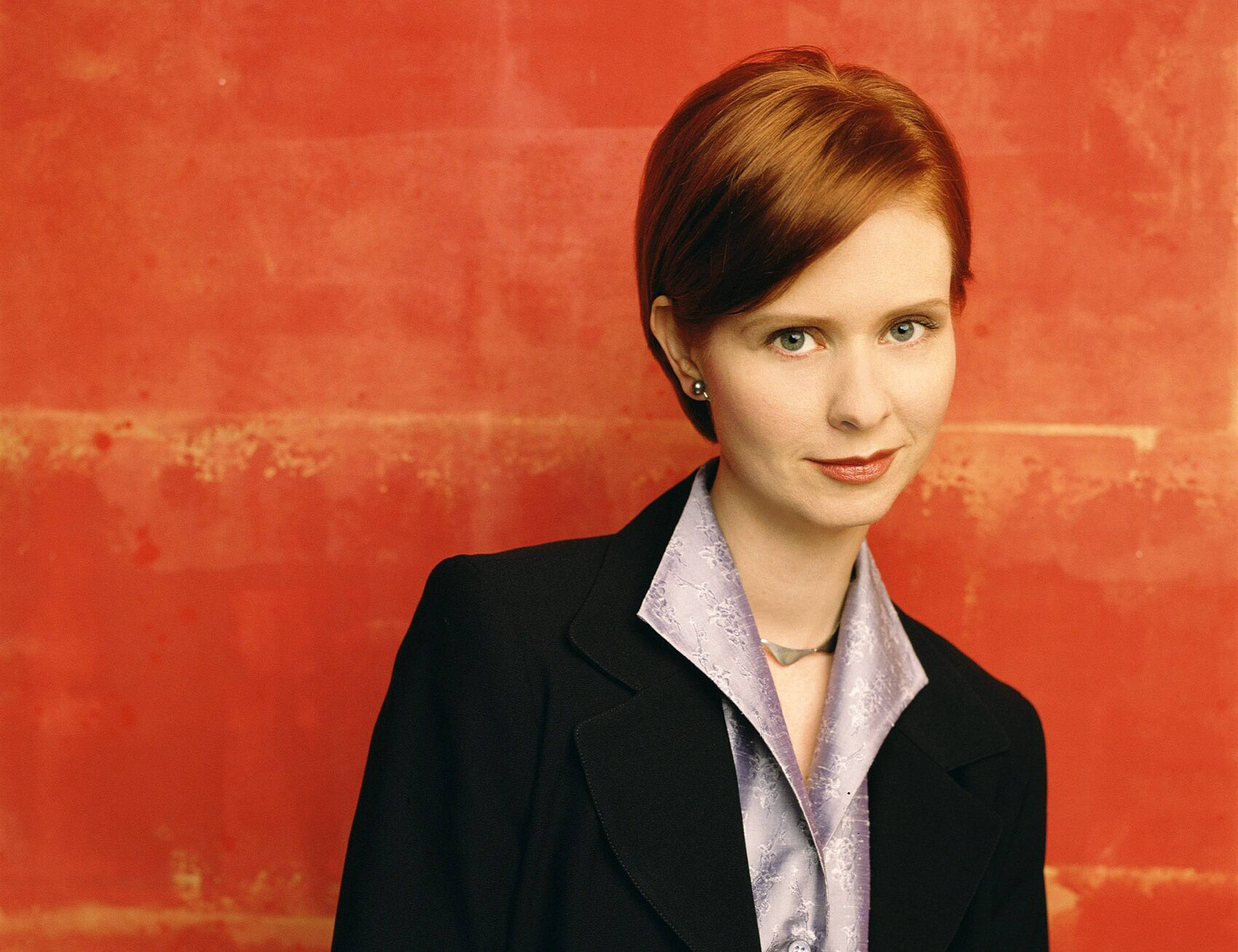 Cynthia Nixon as Miranda in Sex and the City