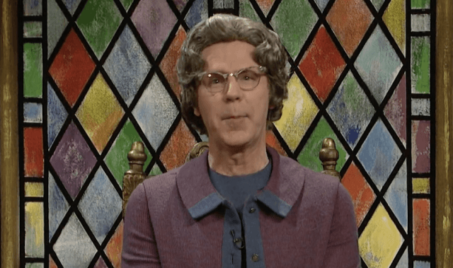 Dana Carvey as Church Lady in 'Saturday Night Live'.
