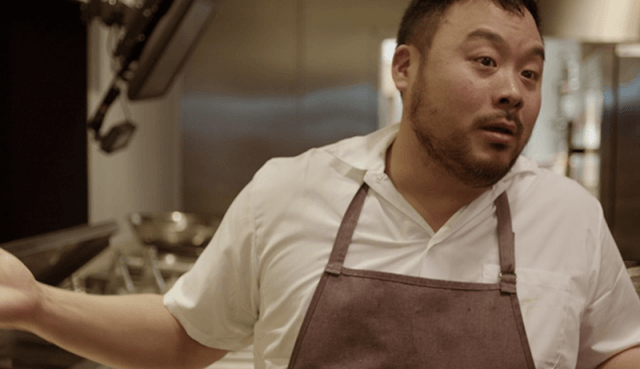 David Chung standing in a kitchen.