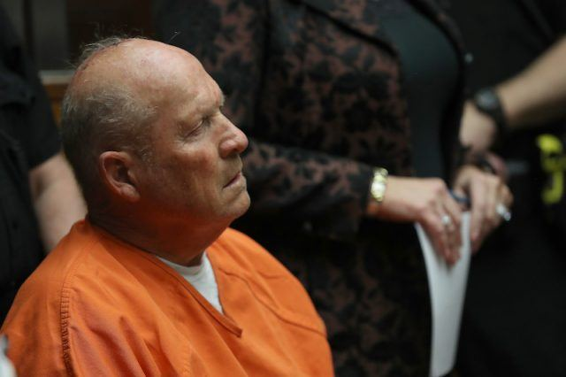 Joseph James DeAngelo during a court hearing.
