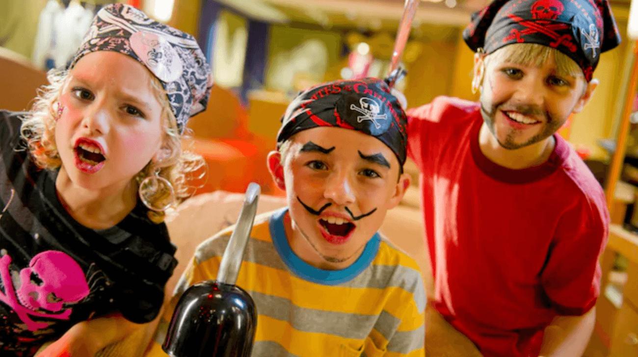 Disney kids pirates