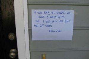 15 Passive-Aggressive Notes From Fed-Up Apartment Dwellers