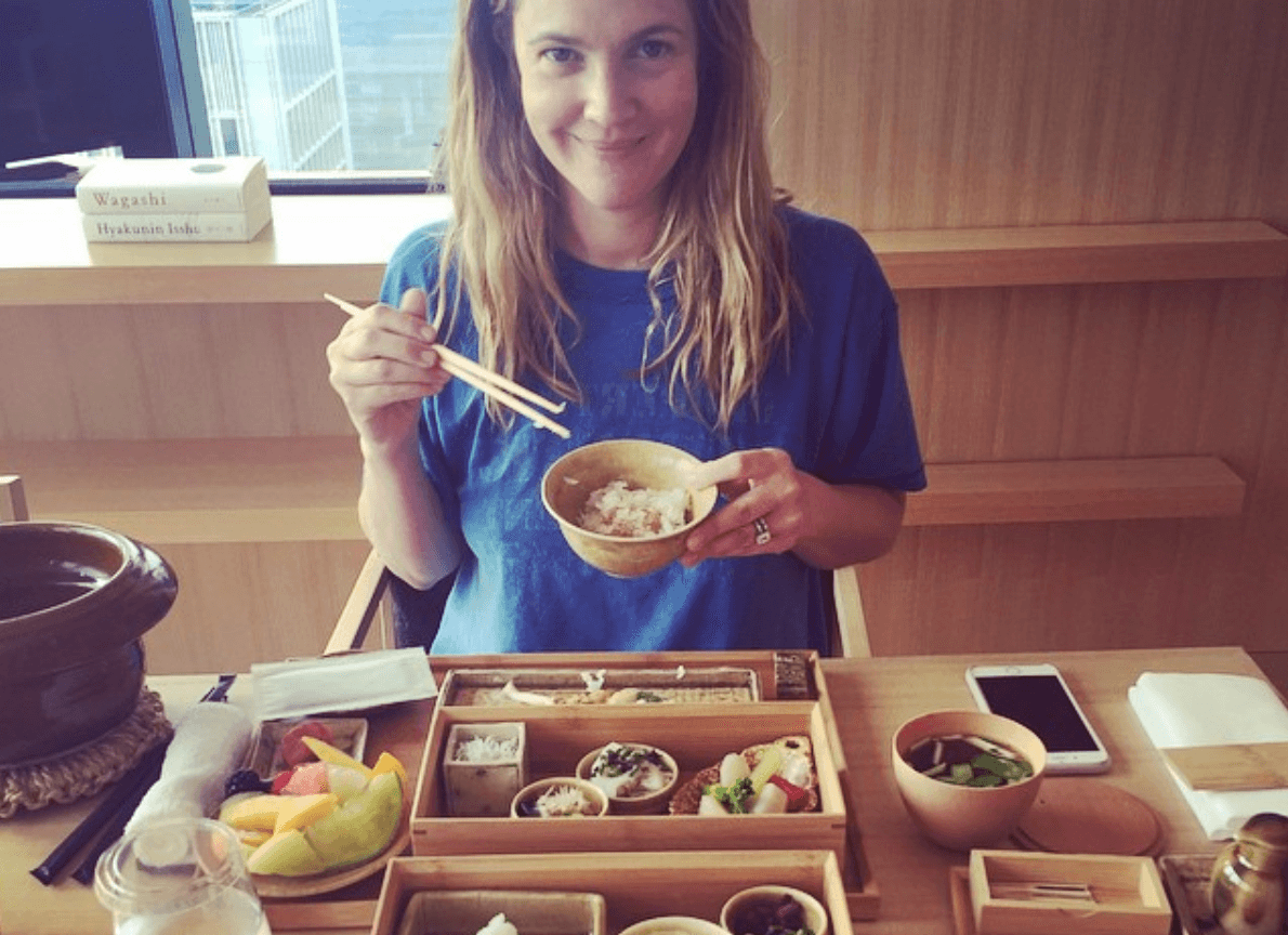 Drew Barrymore food