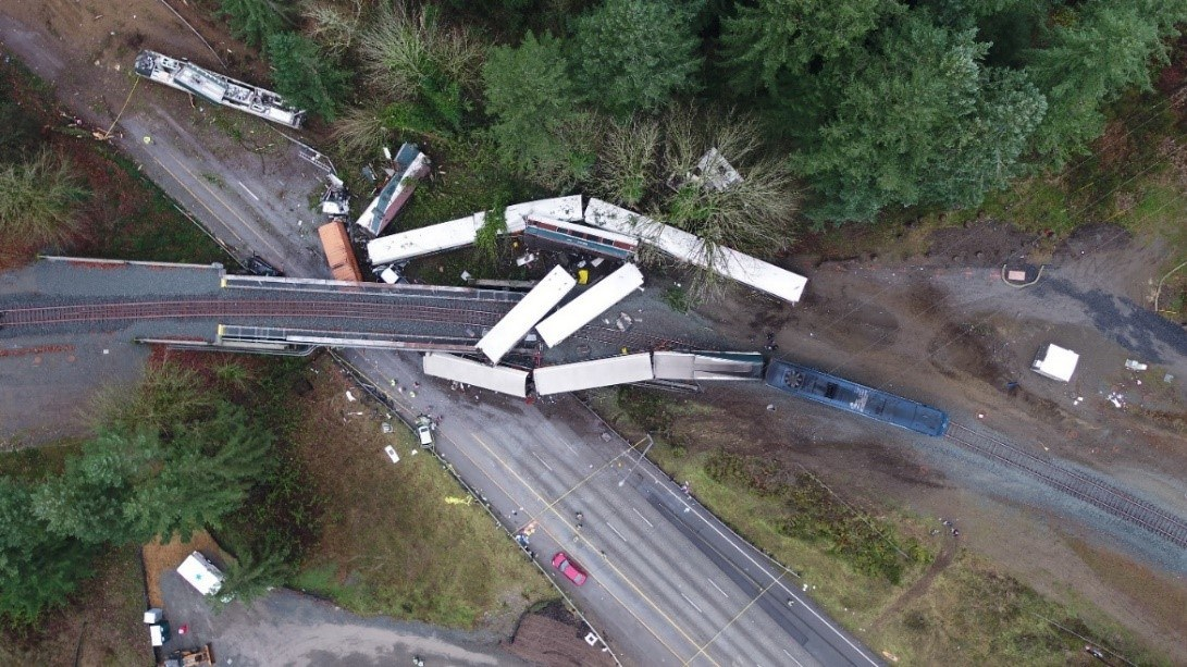 DuPont Washington Train crash