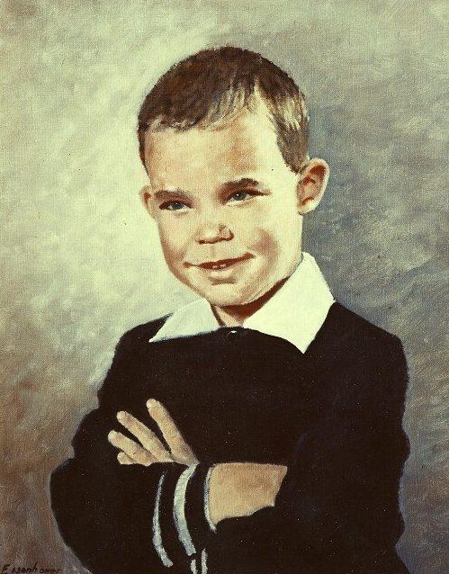Dwight Eisenhower painting