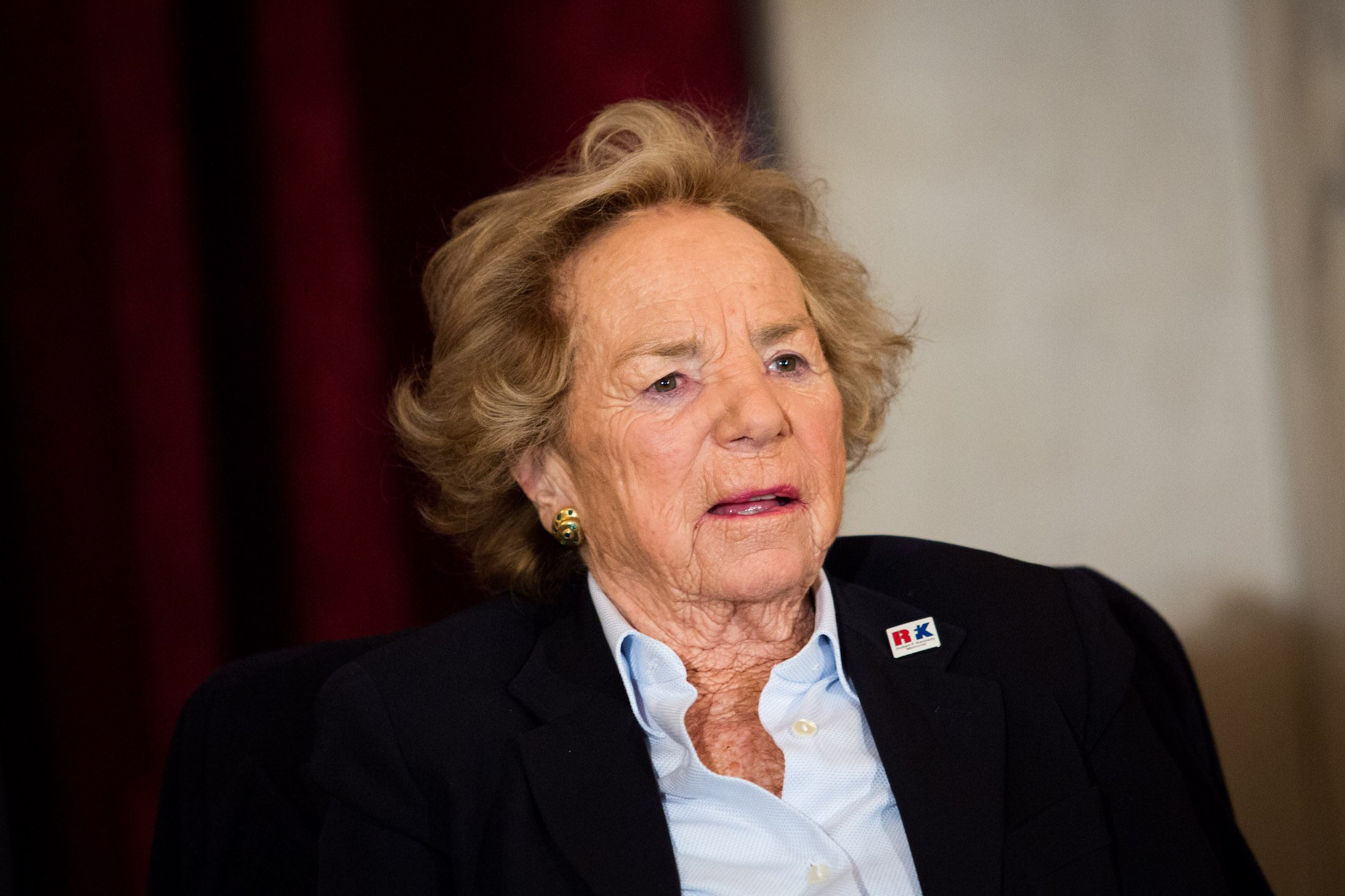 Ethel Kennedy Attends 30th Robert F. Kennedy Human Rights Award Ceremony