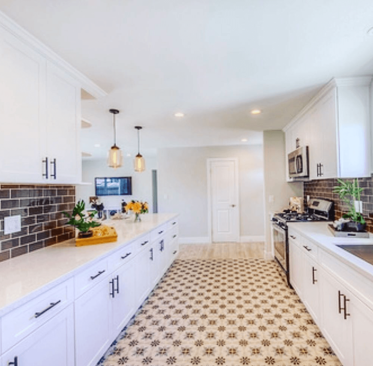 Flip or flop kitchen counter