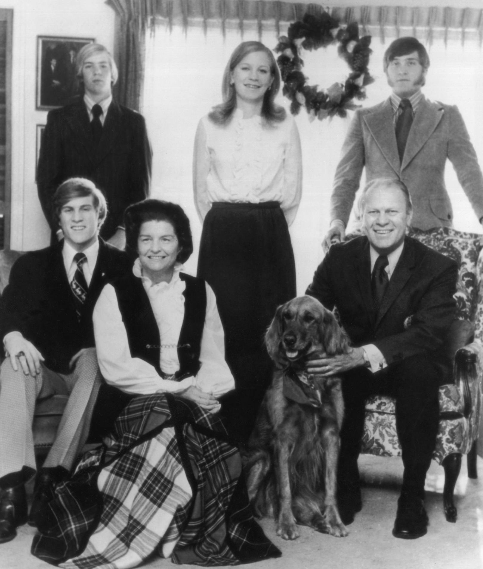 Family Gerald Ford