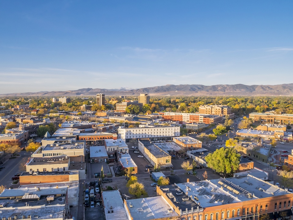 Fort Collins downtown