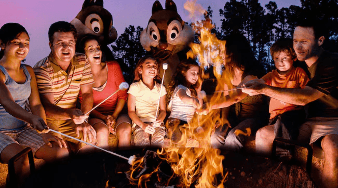 Fort Wilderness campfire disney