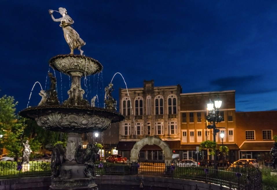 Bowling Green, Kentucky, fountain