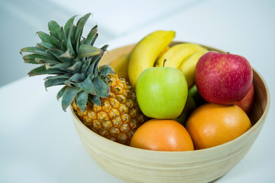 Bowl of Fresh fruits