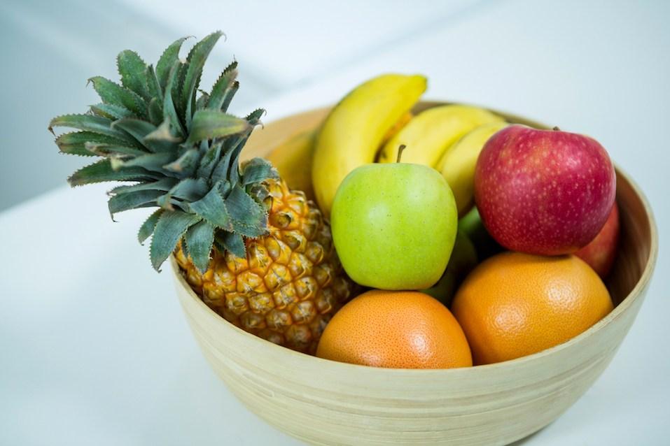 Bowl of Fresh fruits
