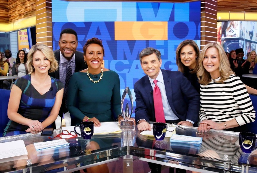 Good morning america anchors