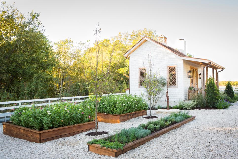 Gaines family garden
