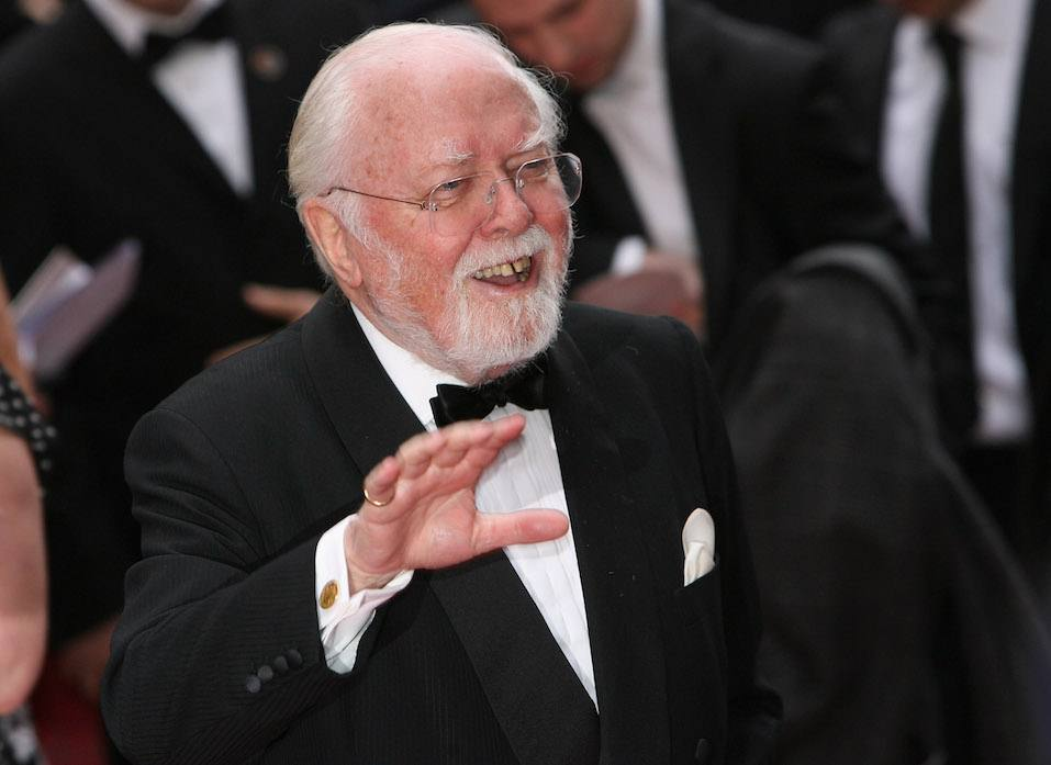 Lord Richard Attenborough attends the Galaxy British Book Awards