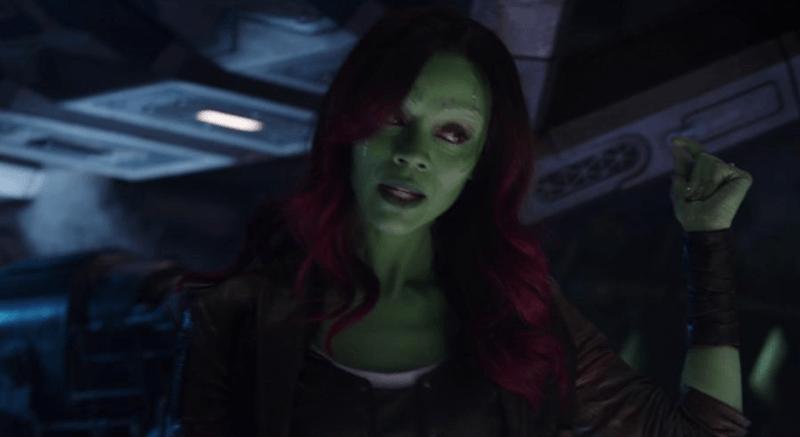 Gamora in Avengers: Infinity War