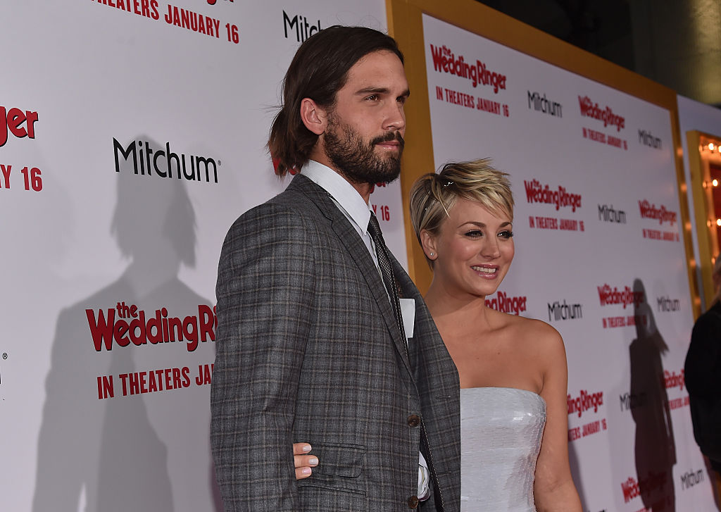 Kaley Cuoco and Ryan Sweeting