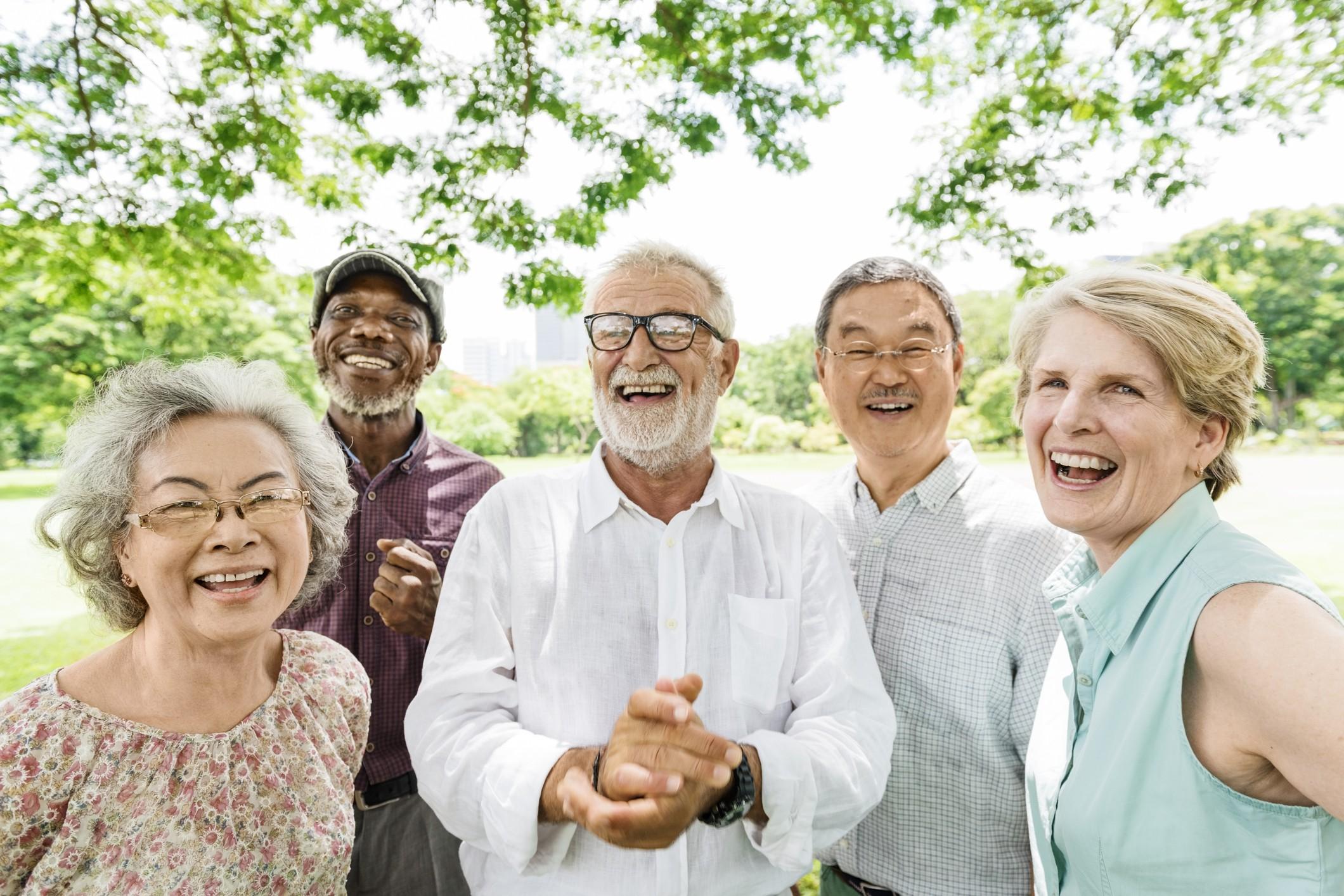Group of seniors