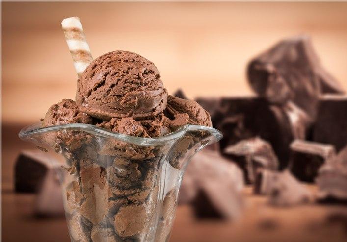 brownie ice cream