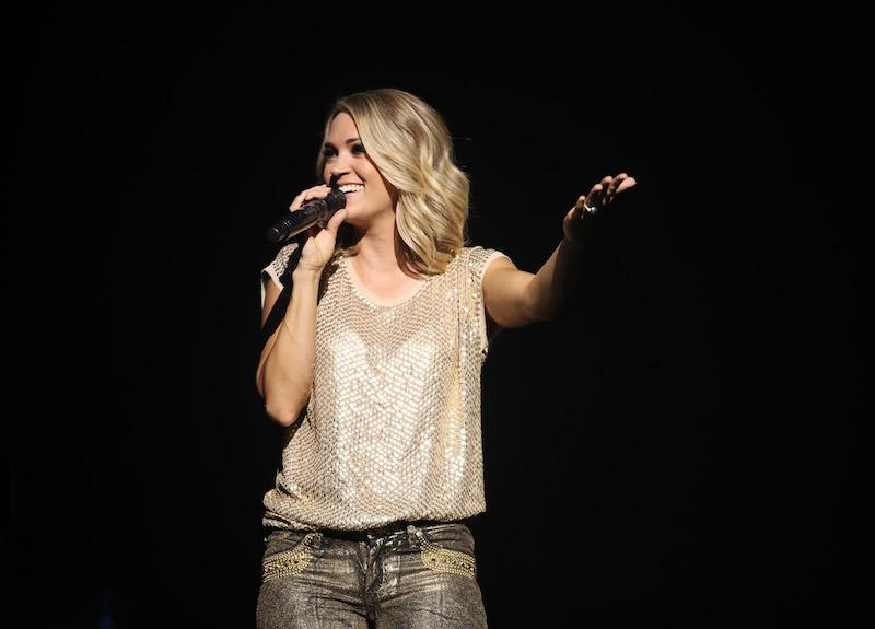 Carrie Underwood performs live exclusively for American Airlines AAdvantage® Mastercard® credit card holders at The Orpheum Theatre on Thursday, June 29, 2017 in Los Angeles, California.