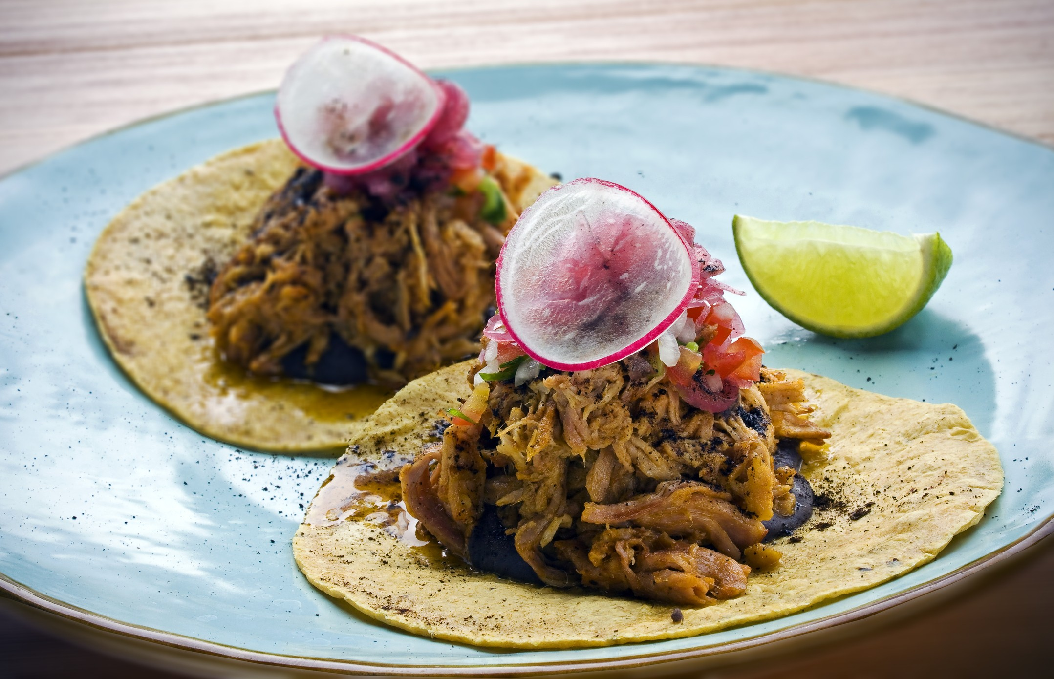 Two tacos Cochinita Pibil