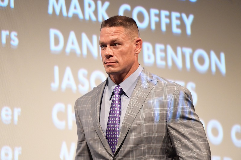 """AUSTIN, TX - MARCH 10: John Cena attends the """"Blockers"""" Premiere 2018 SXSW Conference and Festivals at Paramount Theatre on March 10, 2018 in Austin, Texas. (Photo by Matt Winkelmeyer/Getty Images for SXSW)"""