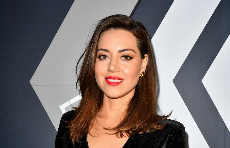 Actress Aubrey Plaza arrives for the Season Two Premiere of FX's Legion in Los Angeles, CAlifornia on April 2, 2018. / AFP PHOTO / Frederic J. Brown (Photo credit should read FREDERIC J. BROWN/AFP/Getty Images)