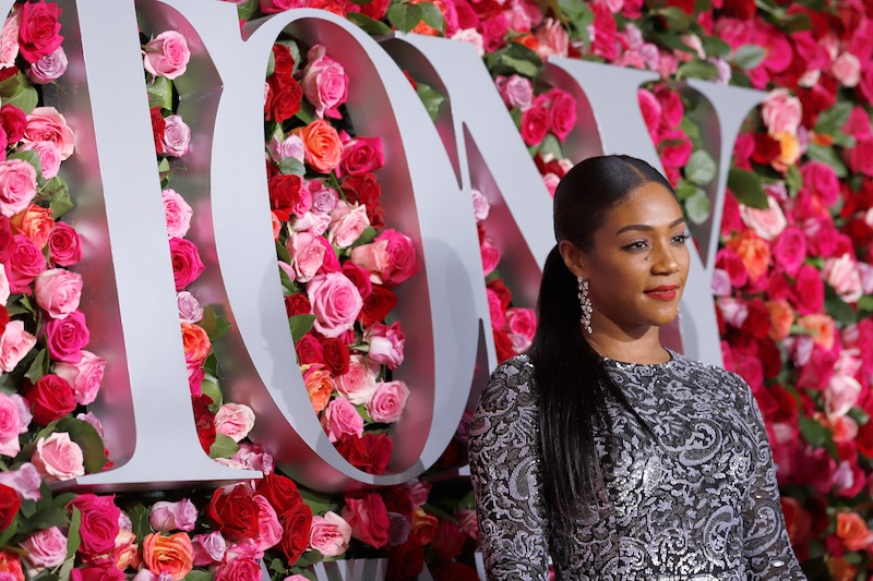 NEW YORK, NY - JUNE 10: Tiffany Haddish attends the 72nd Annual Tony Awards at Radio City Music Hall on June 10, 2018 in New York City.  (Photo by Jemal Countess/Getty Images for Tony Awards Productions