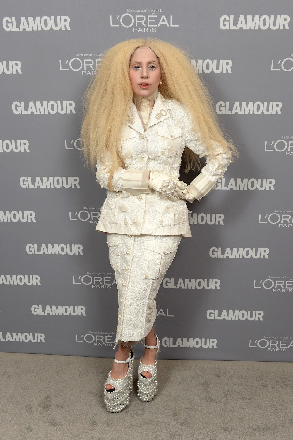 Lady Gaga attends Glamour's 23rd annual Women of the Year awards