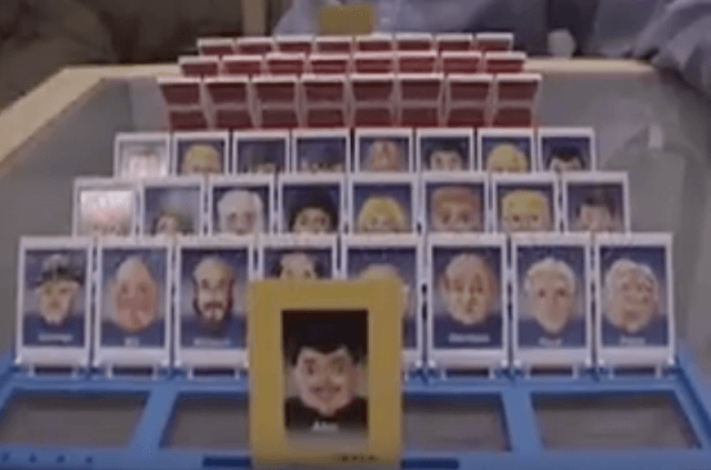 A game of 'Guess Who'.